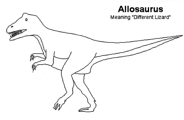 allosaurus coloring page protoceratops colouring pages page 3