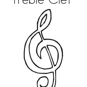 whole note on music notes coloring page kids play color