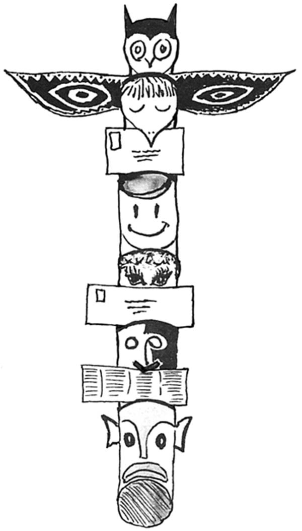 picture of totem poles coloring page kids play color