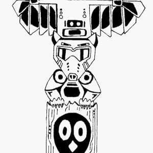 history of totem poles coloring page kids play color