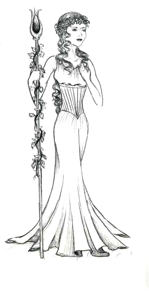 aphrodite is so beautiful coloring page kids play color