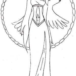 a is for aphrodite coloring page kids play color