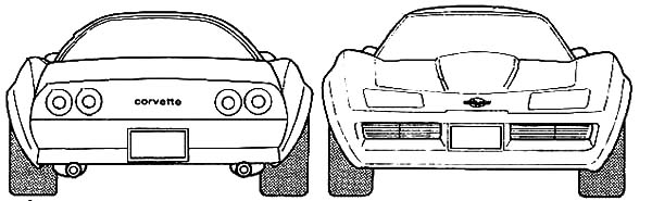 corvette stingray coloring sheets coloring pages now
