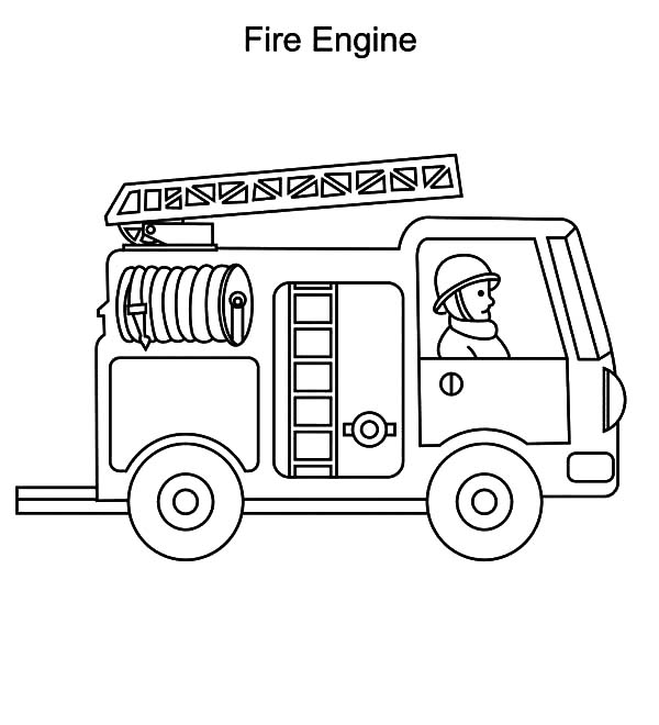 fire engine truck coloring pages fire engine truck coloring pages