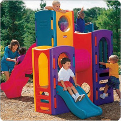 Little Tikes Tropical Playground - Your Kids Colorful Playground Set