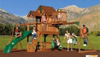 Skyfort All-Cedar Play Set