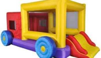 Jump Truck Moon Bounce House