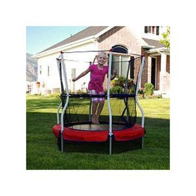 123 JUMP 48 inch Round Bouncer with Game