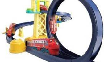 Chuggington Training Yard Playset