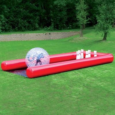 The Human Bowling Ball