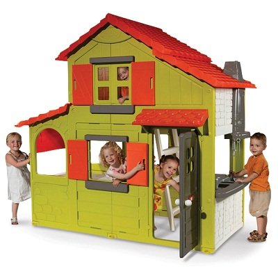 The Two-Story Playhouse - Your kids 2-Story Indoor and Outdoor Play House