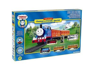 Bachmann Trains Deluxe Thomas and Friends Special Ready-to-Run HO Train Set