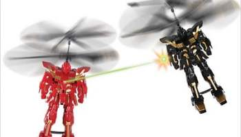 The RC Flying Battle Bots
