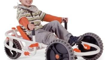 The Lever Steering Pedal Go Kart