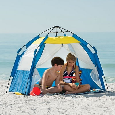 The One Touch Instant Beach Cabana
