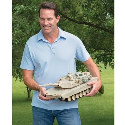 The Remote Controlled Abrams Tank 1