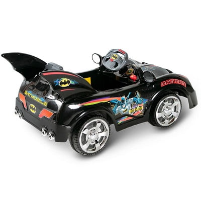 The Young Caped Crusader's Batmobile 1