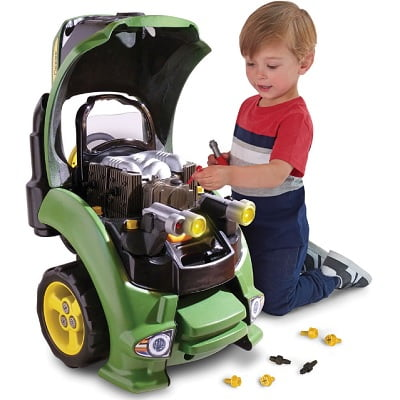 The Tractor Lover's Engine Repair Set - Allows children to practice 12 different engine repairs