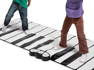 The World's Largest Toe Tap Piano 1