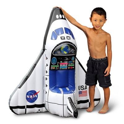 The Aspiring Astronaut's Space Shuttle Play Set