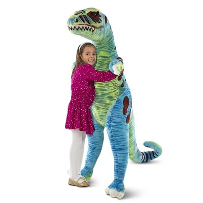 The Gentle Giant T-Rex - A  giant plush t-rex that stands over four feet tall perfect for dinosaur-obsessed child