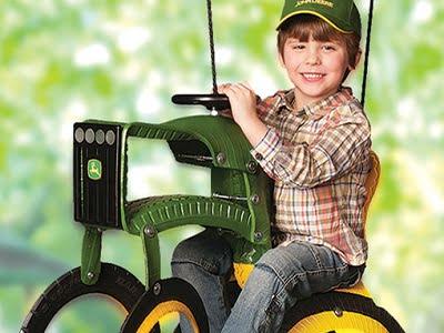 The John Deere Tractor Swing 1