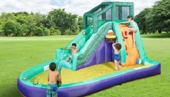 The Slide, Slap, And Splash Water Playground