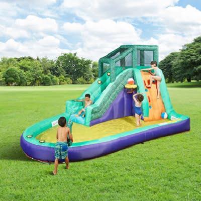 The Slide, Slap, And Splash Water Playground