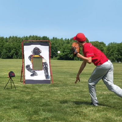 The Speed Sensing Pitching Trainer
