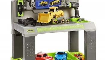 Little Tikes Construct n Learn Smart Workbench