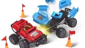 The Crash And Rebuild Monster Trucks