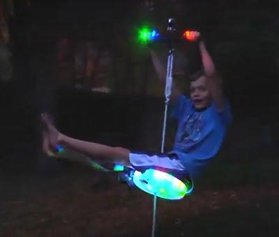The Day And Night Backyard Zipline 1
