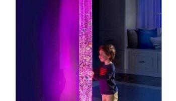 The 6' Light Show Bubble Aquarium