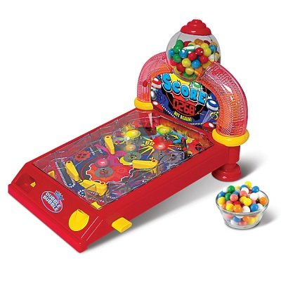 The Gumball Awarding Pinball Machine