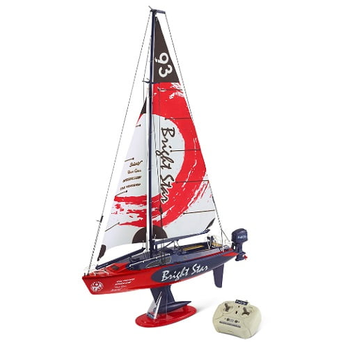 RC Motorized Sailboat1
