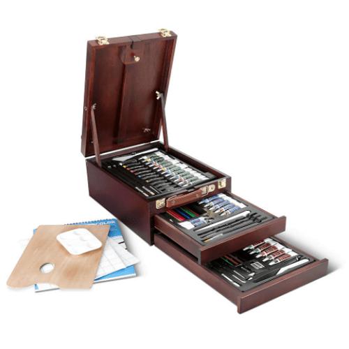 Multi Media Easel Box Art Set