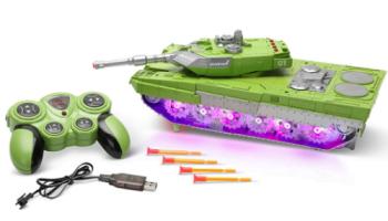 Transforming-Illuminated-Robotic-Tank