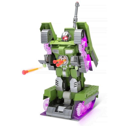 Transforming Illuminated Robotic Tank1