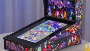 Tabletop-Virtual-Pinball-Machine