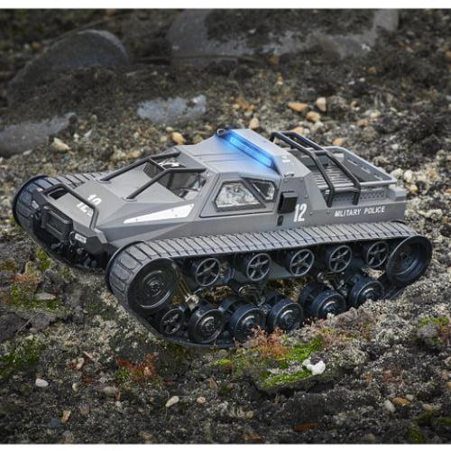 Terrain Conquering Wide Track RC Tank