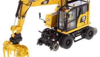Diecast-model-of-CAT-Caterpillar-Excavator