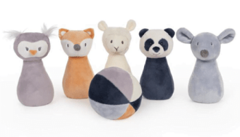 Plush-Animal-Friends-Bowling-Set