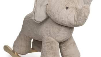 Plush-Elephant-Rocker