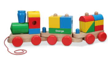 Personalized-Wooden-Stacking-Train