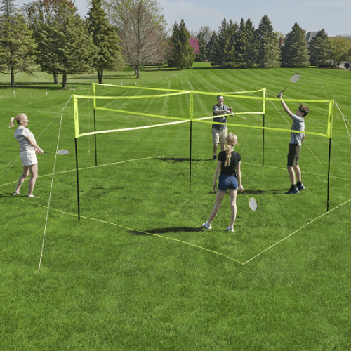 Four Square Volleyball Badminton Game1