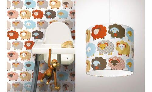 Kinderkamer Behang Vogelhuisjes : Hip behang voor op de kinderkamer ⋆ kidsshopgids