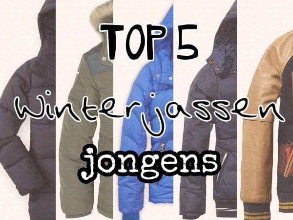 top5 winterjas jongens