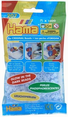 hama glow strijkkralen