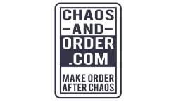 Chaos and order logo