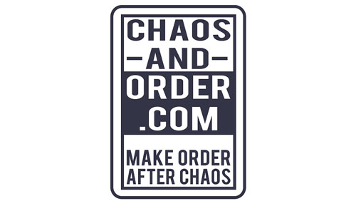 Chaos and order logo